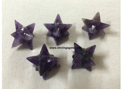 AMETHYST 14 POINT STAR