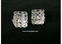 CRYSTAL QUARTZ 54 PYRAMID CUBE