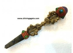 DORJES HEALING STICK WITH CHAKRA CABS A2