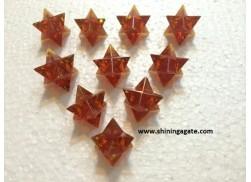 AMBER MERKABA STAR