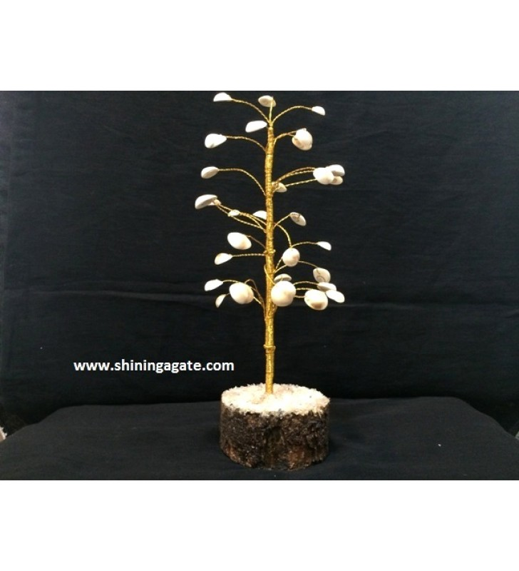 GOMTI CHAKRA {SHELLS} GEMSTONE TREE
