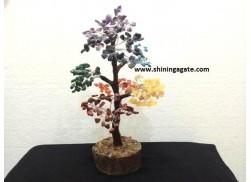 300 BDS SEVEN CHAKRA GEMSTONE TREE