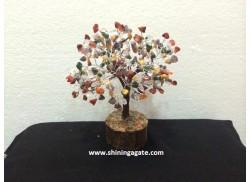 300BDS MULTICOLOR GEMSTONE TREE