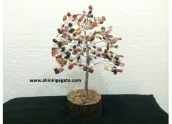 300BDS MULTICOLOR DOUBLE WIRE GEMSTONE TREE