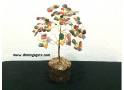150BDS MULTI COLOR SINGLE WIRE GEMSTONE TREE