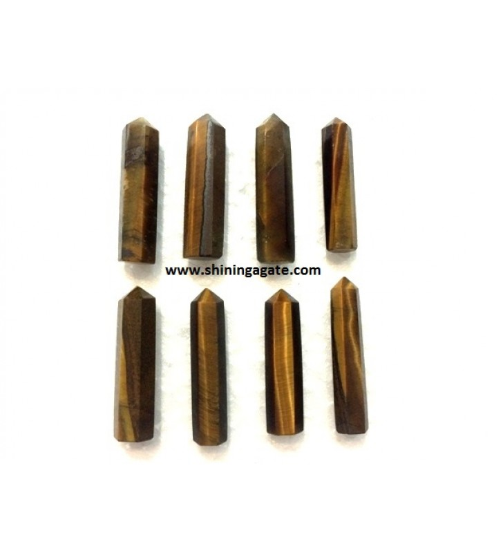 TIGER EYE SINGLE TERMINATED PENCIL POINTS