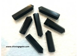 BLACK AGATE SINGLE TERMINATED PENCIL POINTS