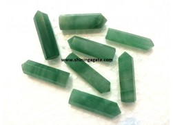 GREEN AVENTURINE SINGLE TERMINATED PENCIL POINTS