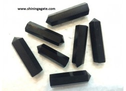 BLACK TOURMALINE SINGLE TERMINATED PENCIL POINTS