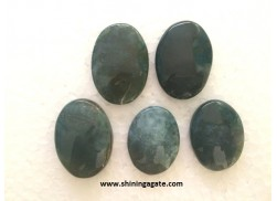 MOSS AGATE CABACHONES