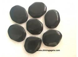 BLACK JASPER PALM STONES
