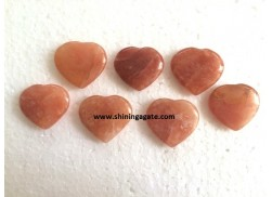 RED AVENTURINE PUB HEARTS