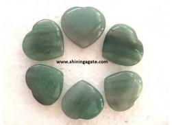 GREEN AVENTURINE PUB HEARTS
