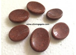 RED AVENTURINE WORRY STONE