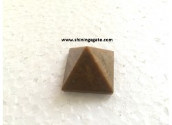 CAMEL AGATE PYRAMIDS 30MM-40MM