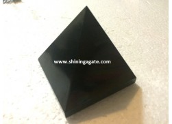 BLACK JASPER PYRAMID 80MM-85MM