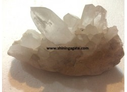 CRYSTAL QUARTZ NATURAL FAMILY CLUSTER