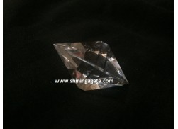 CRYSTAL QUARTZ DOUBLE PYRAMID