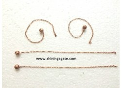 BRONZE METAL CHAIN WITH BALL FOR PENDULUM