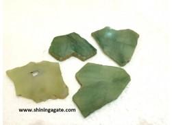 GREEN AVENTURINE AGATE SLICES