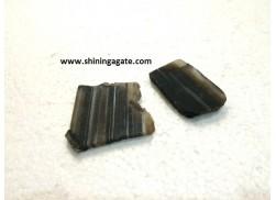 BLACK ONYX AGATE SLICES