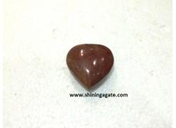 RED JASPER BIG SIZE PUB HEARTS
