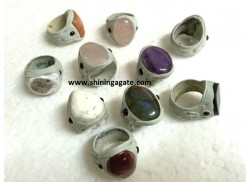 MIX GEMSTONE FINGER RINGS