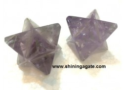 AMETHYST MEDIUM SIZE MERKABA STAR