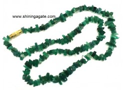 GREEN AVENTURINE CHIPS NECKLACE