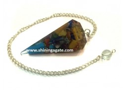 ORGONE SIX FACETED PENDULUM