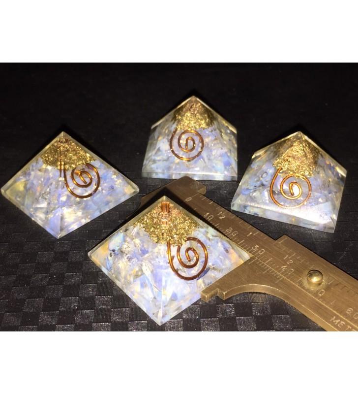 Opalite Mini Orgone Pyramids